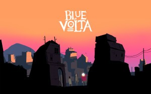Blue Volta Wallpaper Concept Art