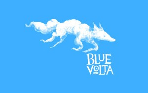 Cloud Fox Blue Volta Wallpaper