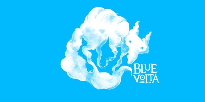 Cloud Fox Blue Volta Wallpaper